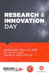 2018 Research & Innovation Day Program