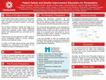 Patient Safety and Quality Improvement Education for Paramedics by Rayne Crosetta, Presley Smith, Jenalyn Cundy-Jones, Lisa Henderson, and Alan Batt