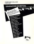 1981 Fine Art Graduation Exhibition Catalogue