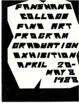 1988 Fine Art Graduation Exhibition Catalogue by Lisa Cherewyk, Lyle McLeod, Steve Murphy, Caryn D. MacFabe, and Bill Sawchuk
