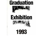 1993 Fine Art Graduation Exhibition Catalogue by Fanshawe College of Applied Arts and Technology