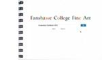2012 Fine Art Graduation Exhibition Catalogue