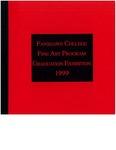 1999 Fine Art Graduation Exhibition Catalogue