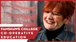 Co-operative Education at Fanshawe College by Anthony Johns
