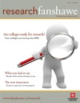 ResearchFanshawe Issue 1 by Howard W. Rundle, Leslie McIntosh, Steve Torrens, Bruce Moore, and Greg Weiler